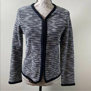 J Crew Women's S Boucle Tweed Cardigan Jacket